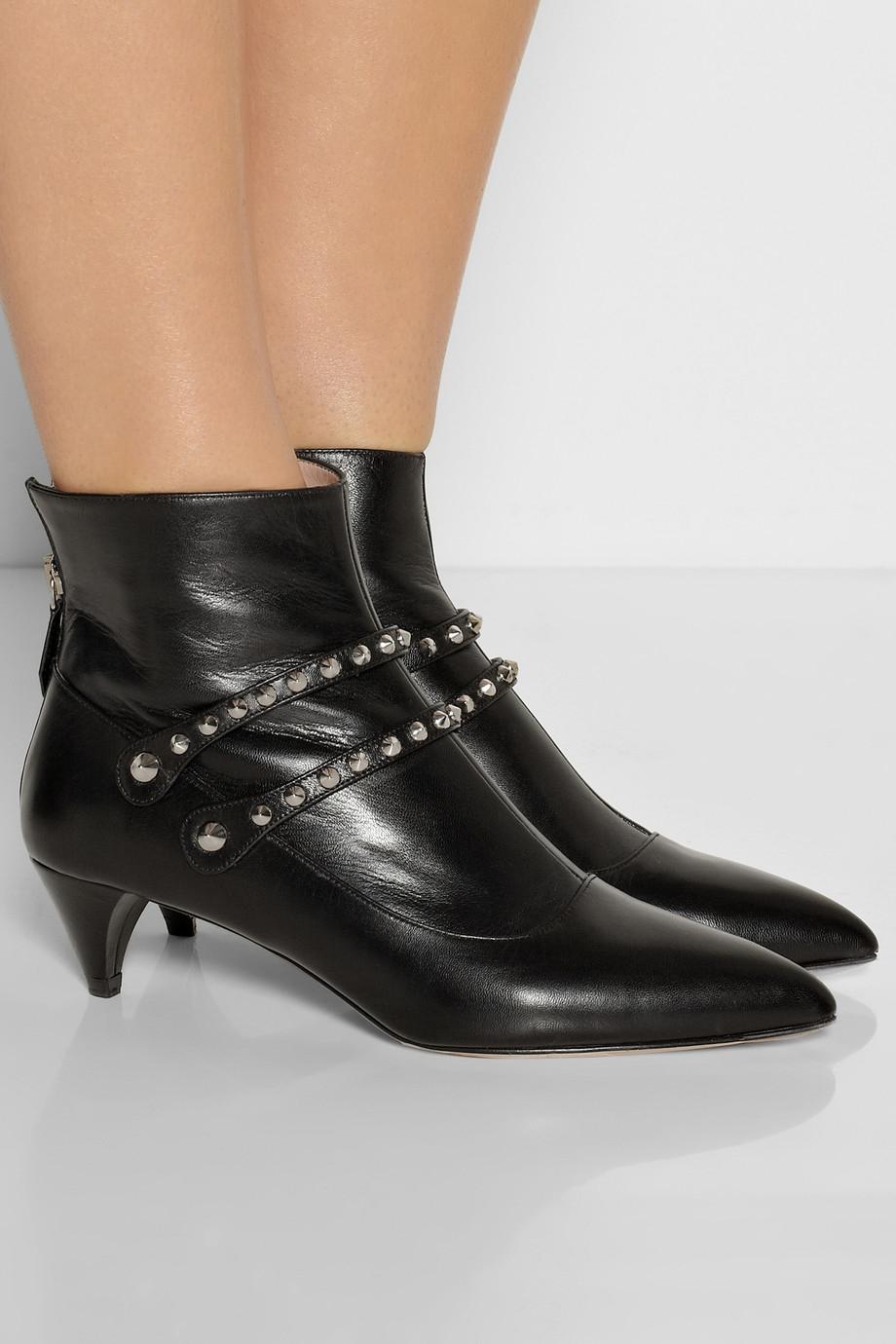 studded boots - Black Miu Miu u8nziidJ