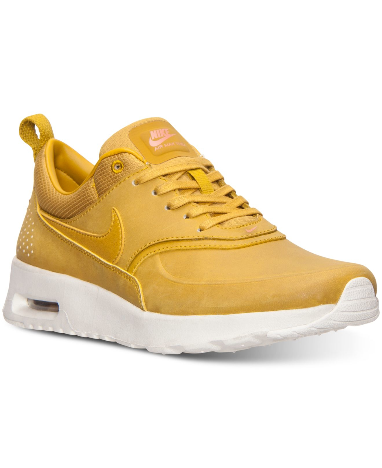 sale retailer b435e bf9a1 Nike Women s Air Max Thea Premium Running Sneakers From Finish Line ...