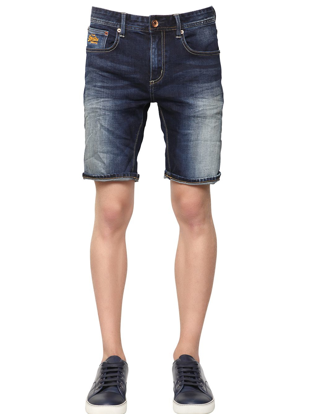 """Shop American Eagle Outfitters for men's and women's jeans, T's, shoes and more. You asked for it and we listened. We love our slim fit shorts and we know you will, too. You'll look like you just walked off of a yacht when you wear these fitted shorts. The 10"""" inseam on our denim cutoff shorts gives you a bit more coverage. Each."""