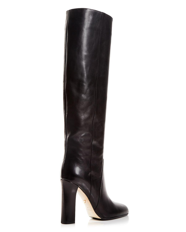 Diane von Furstenberg Leather Boots