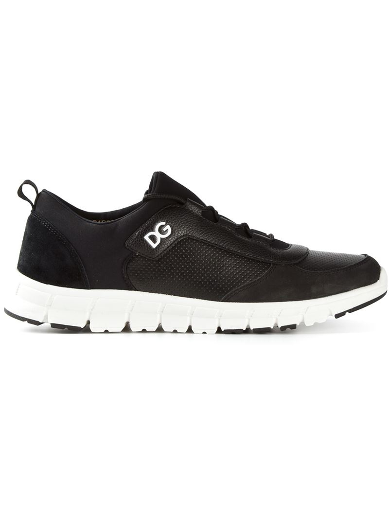 various colors professional sale separation shoes Dolce & Gabbana Running Sneakers in Black for Men - Lyst