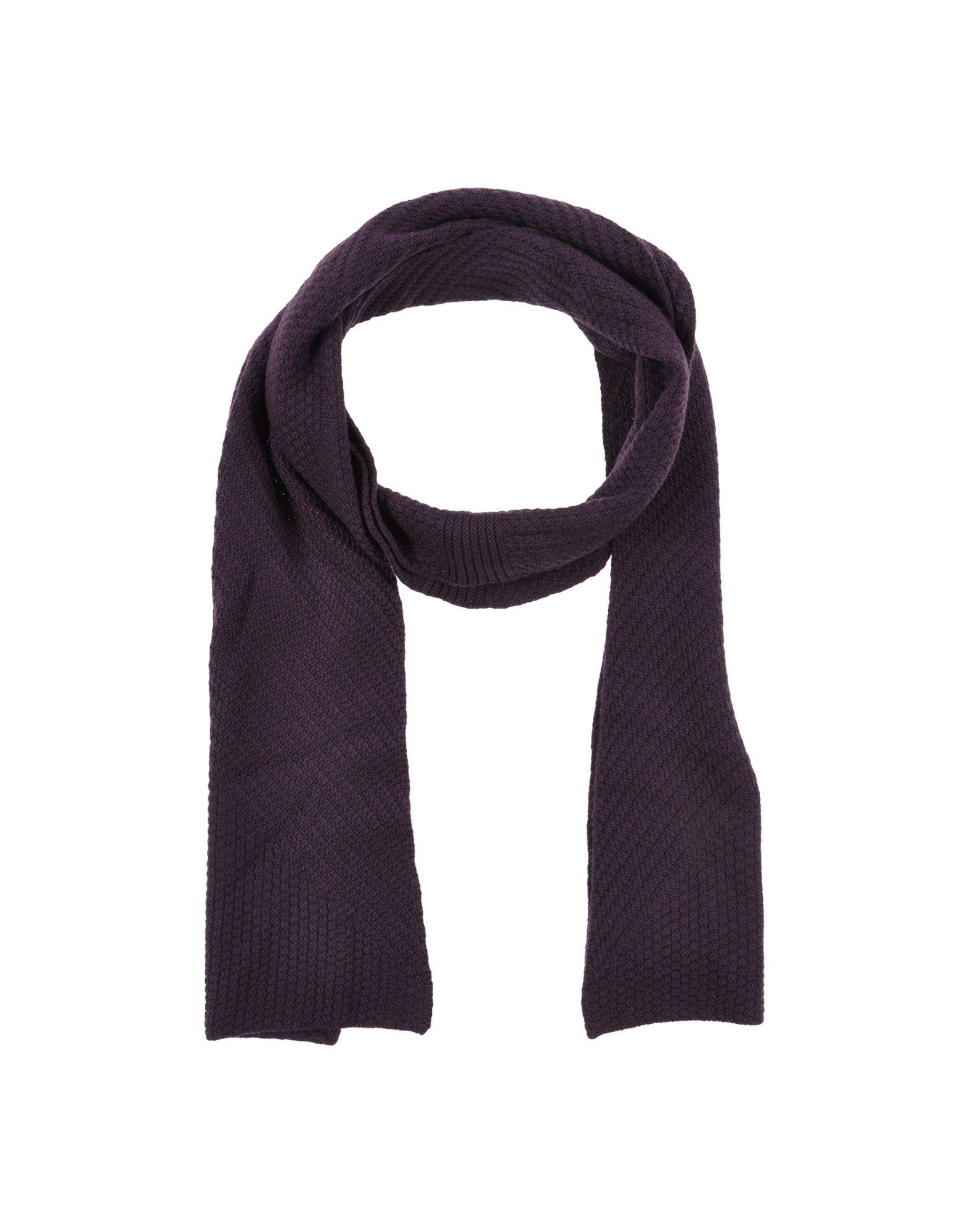 pringle of scotland oblong scarf in purple lyst