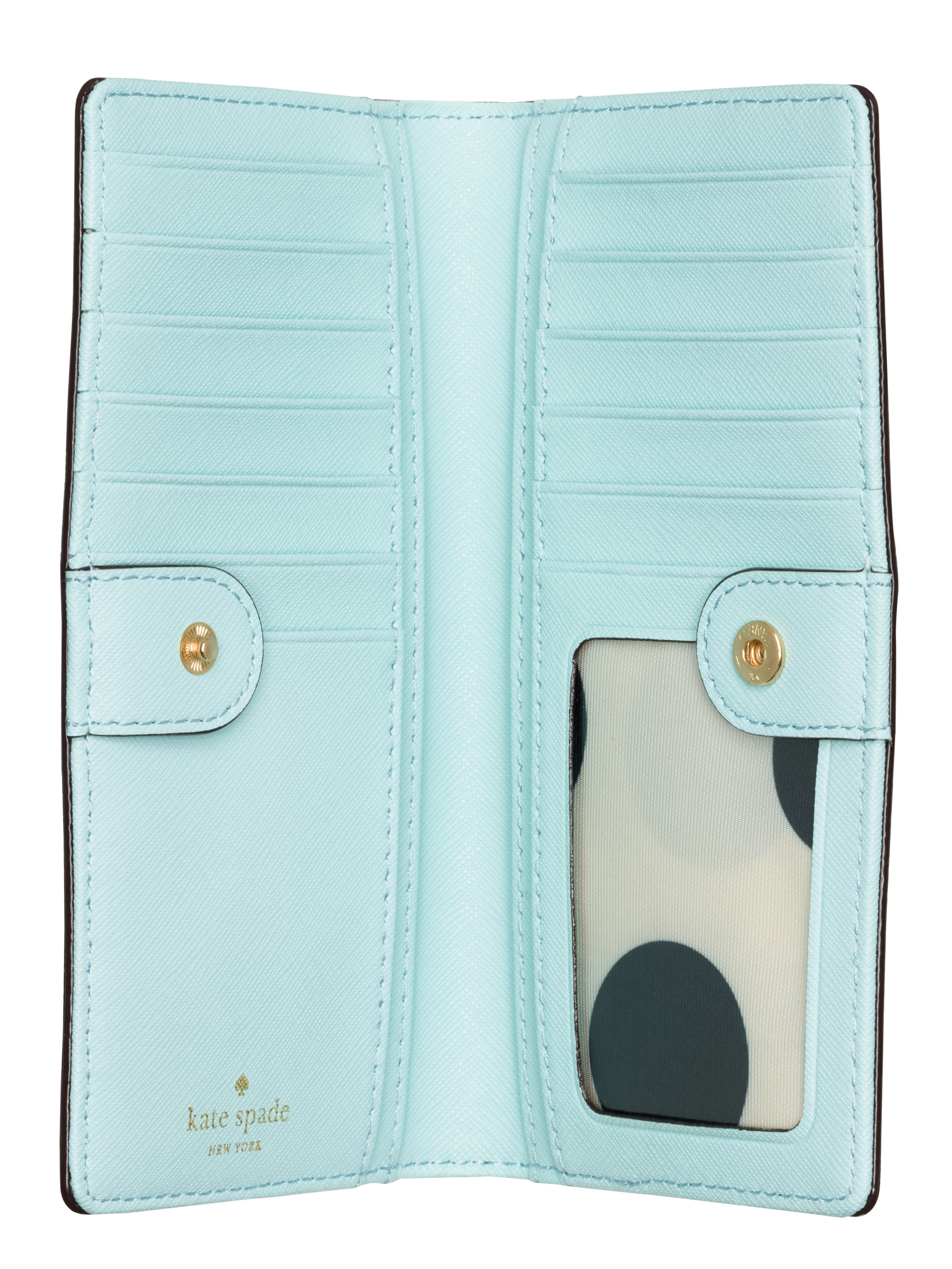 166befe86ebf7 Kate Spade Stacy Wallet Blue - Image Of Wallet