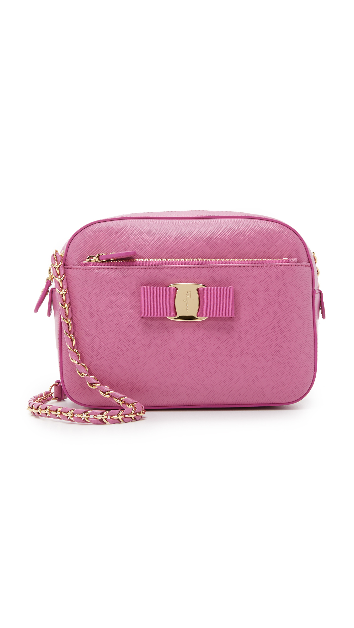 Lyst Ferragamo Lydia Camera Bag In Pink