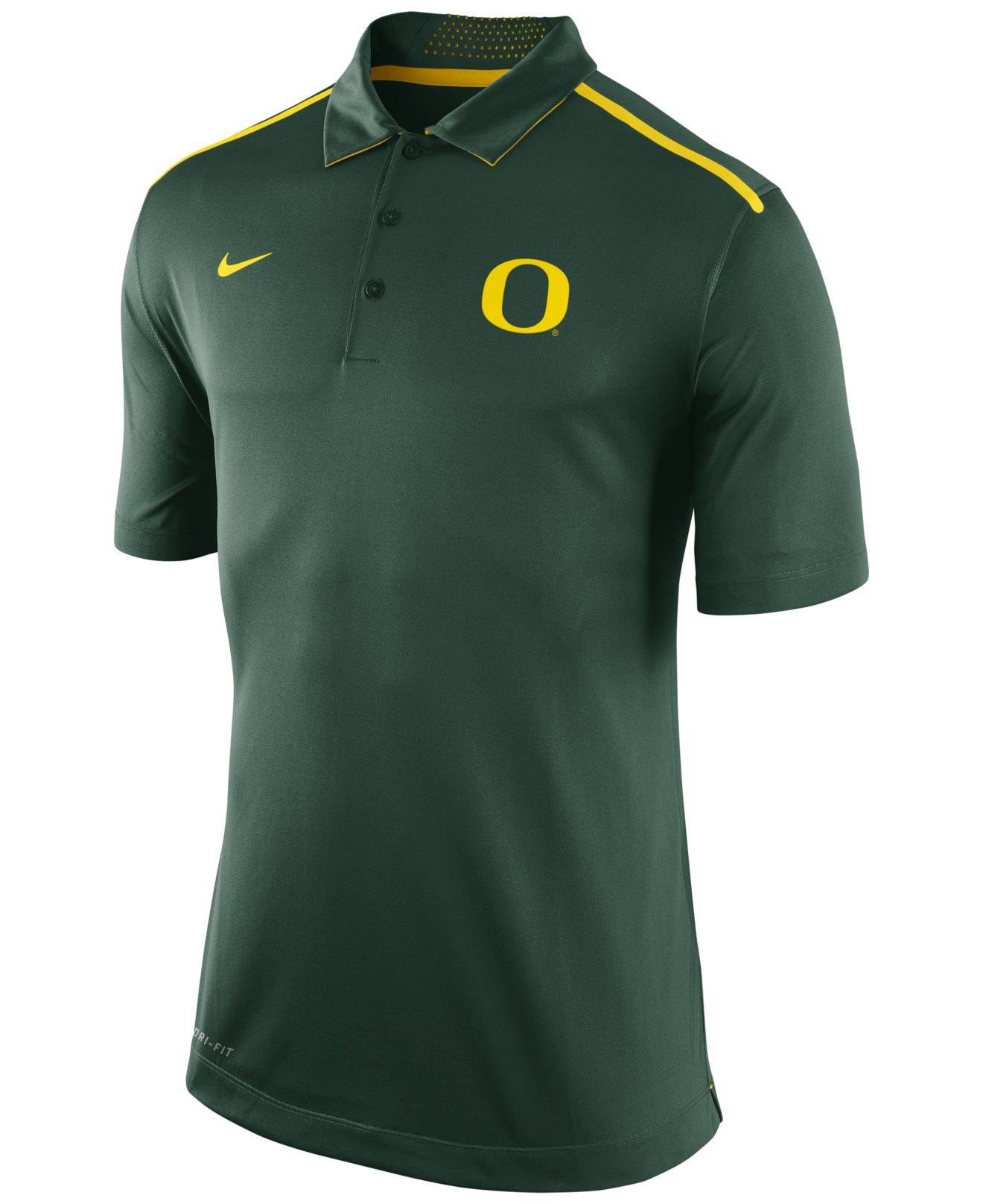 lyst nike men 39 s oregon ducks elite coaches polo shirt in