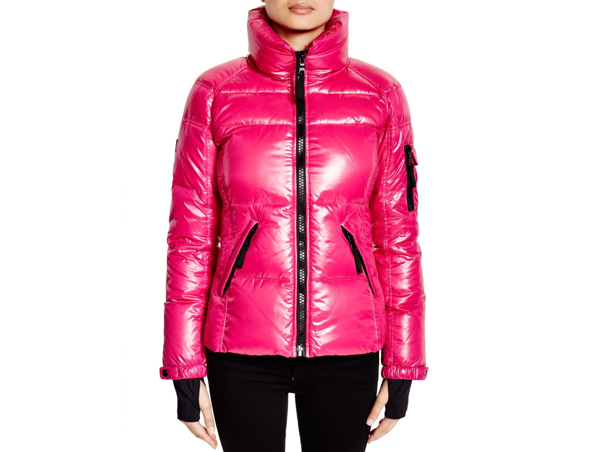 2a040608e Sam. Freestyle Down Jacket in Pink - Lyst