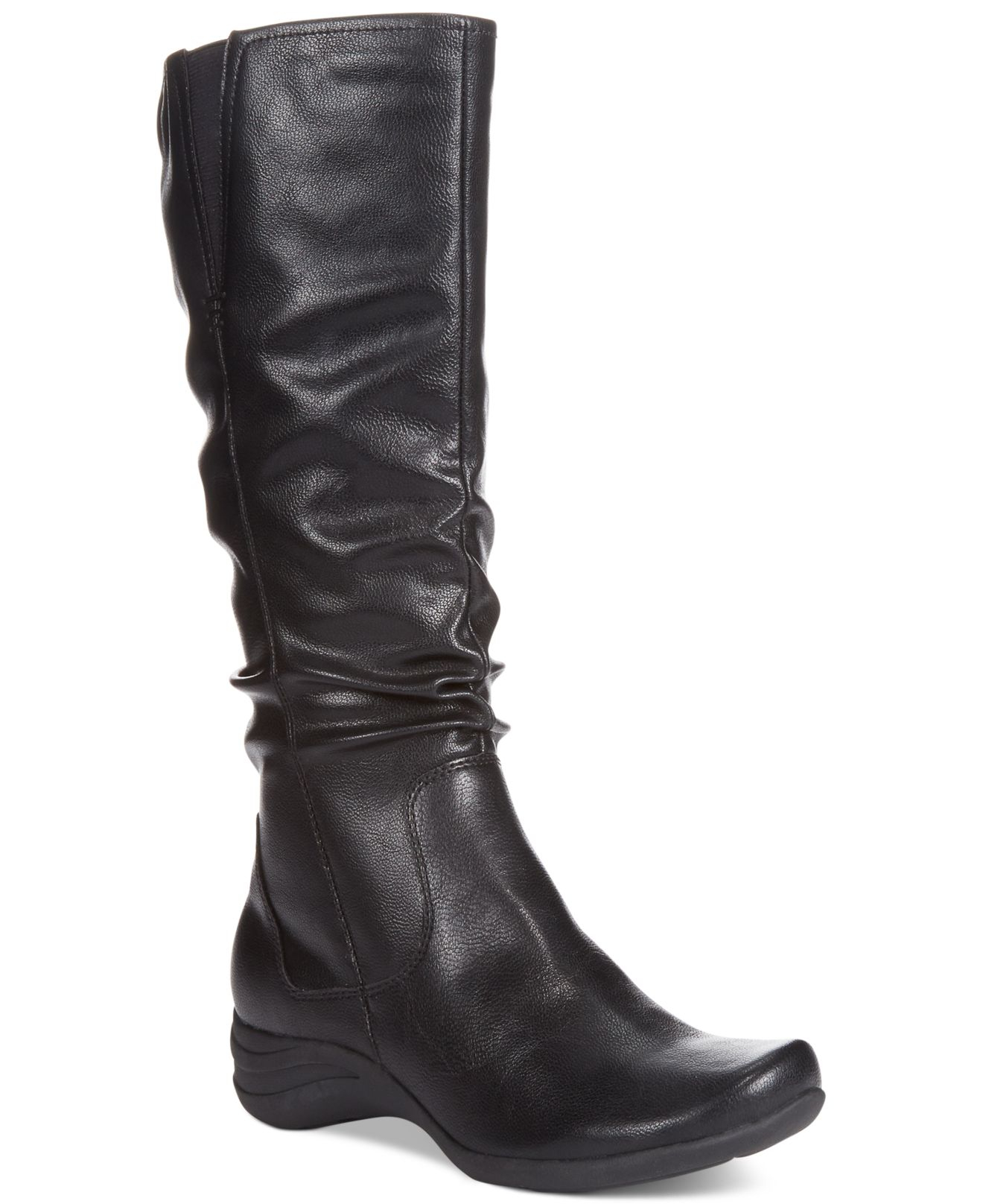 Awesome Hush Puppies Emel Overton Leather Boots For Women  Save 56