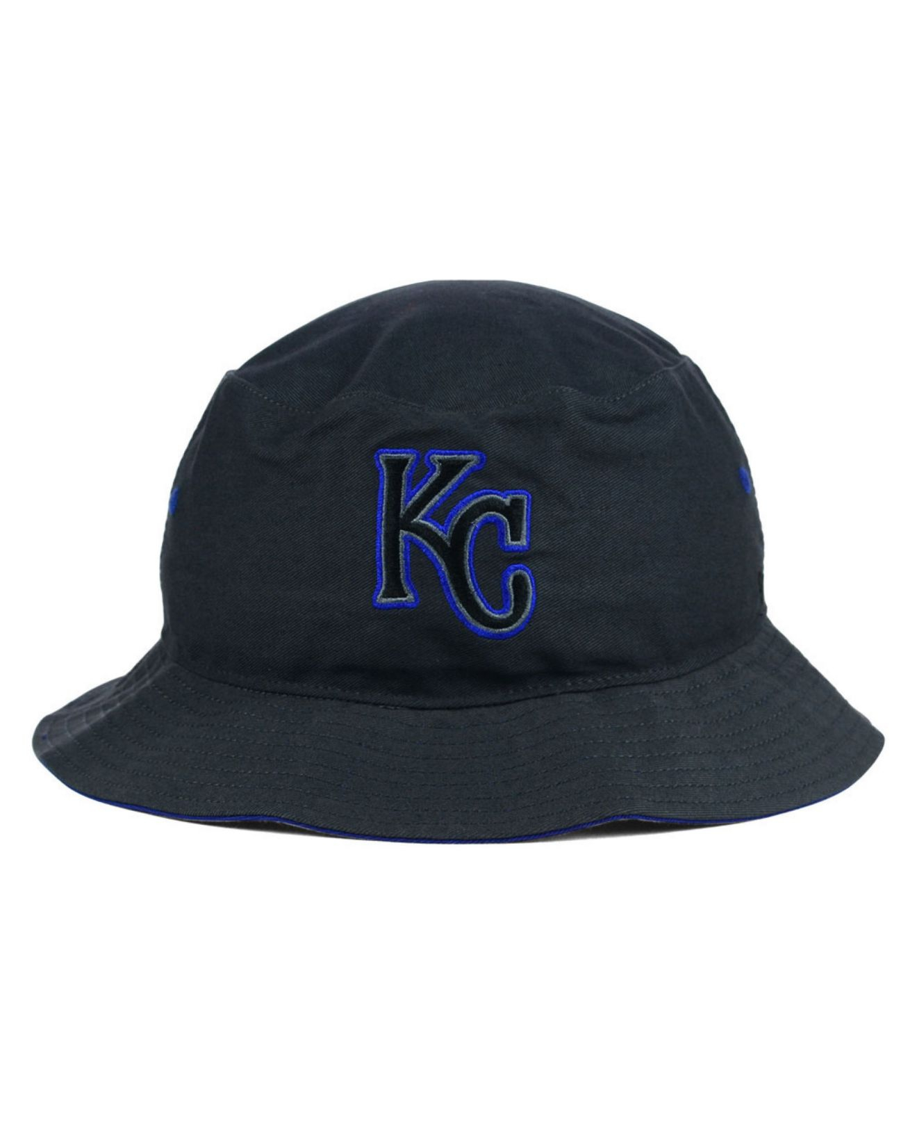 official photos 2cdcf c5475 ... coupon for lyst 47 brand kansas city royals turbo bucket hat in gray  58d72 971ad