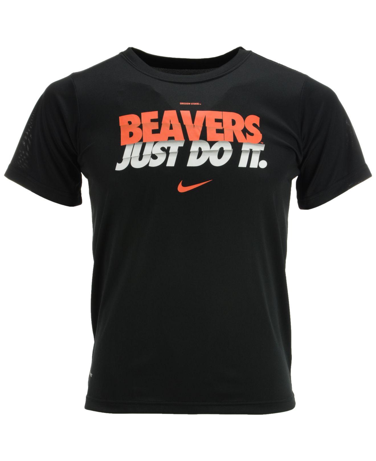 Lyst - Nike Kids  Short-sleeve Oregon State Beavers Dri-fit T-shirt ... 80cede5ab