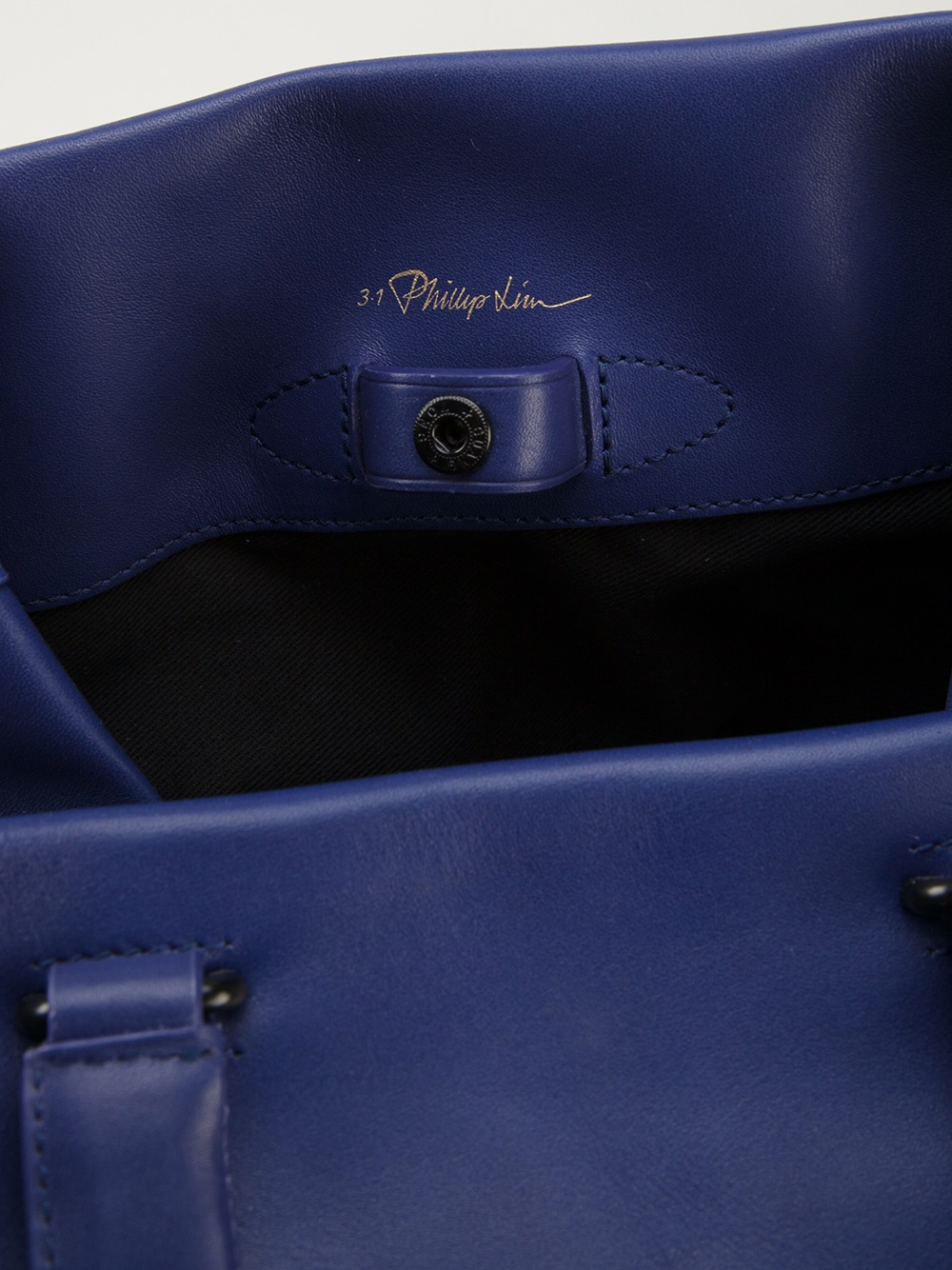 3.1 Phillip Lim Large Wednesday Tote in Blue