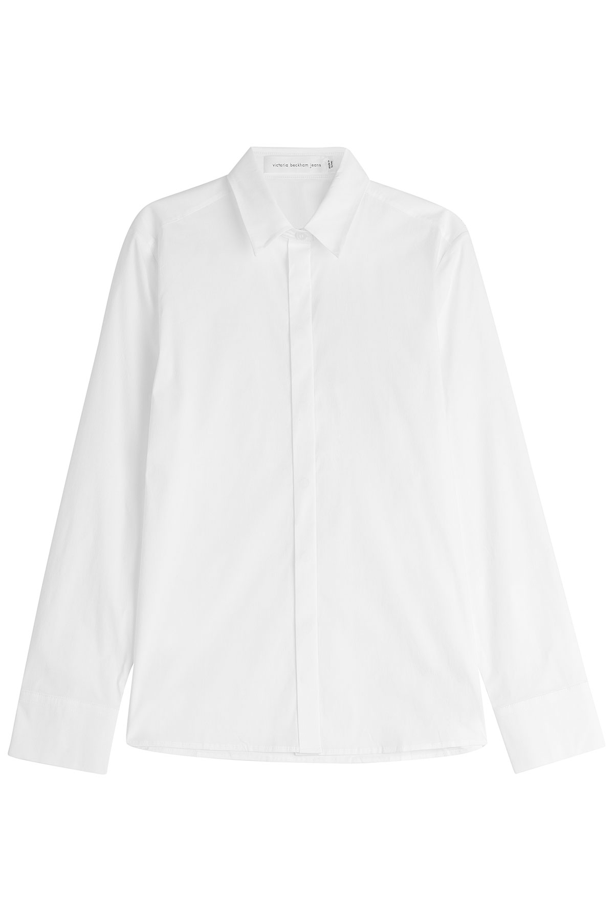 Lyst Victoria Beckham Cotton Shirt White In White