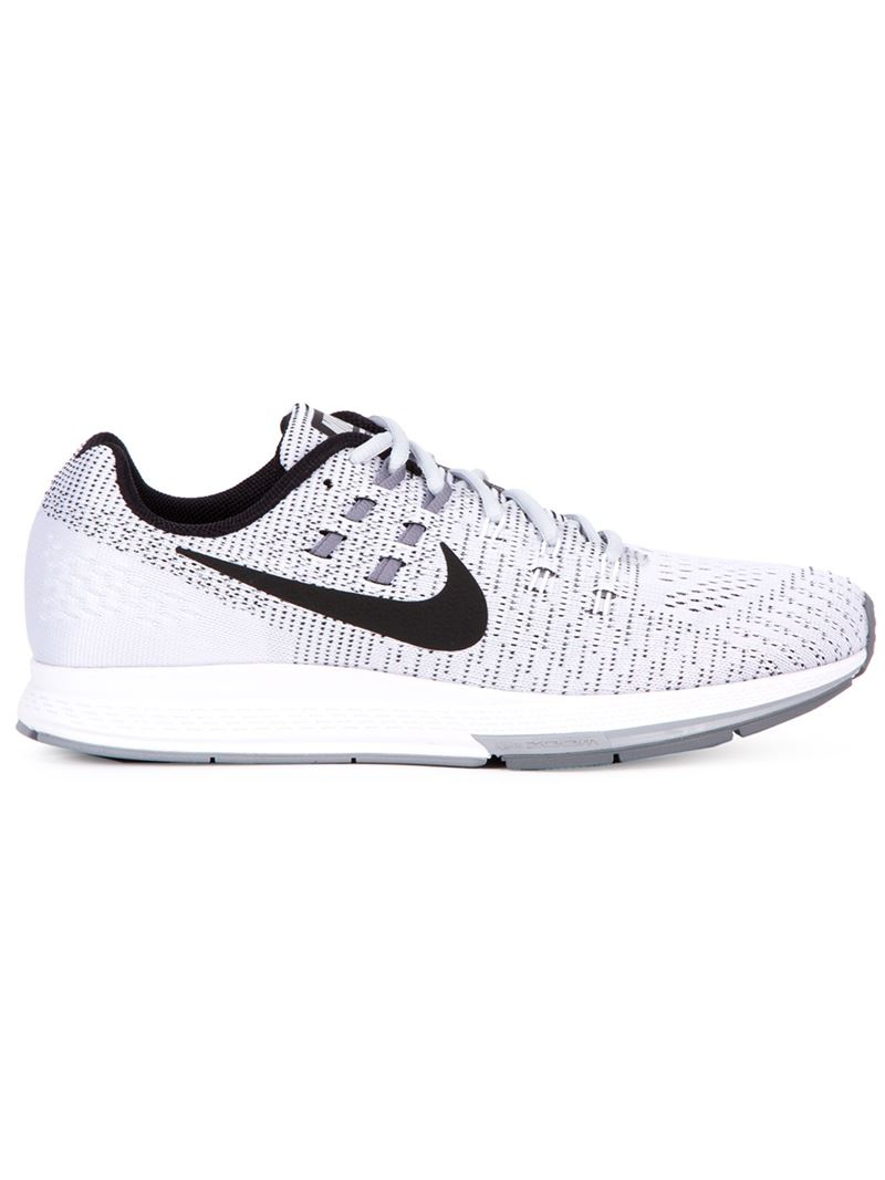 official photos 5a646 d97db Nike Gray Air Zoom Structure 19 Running Sneakers for men