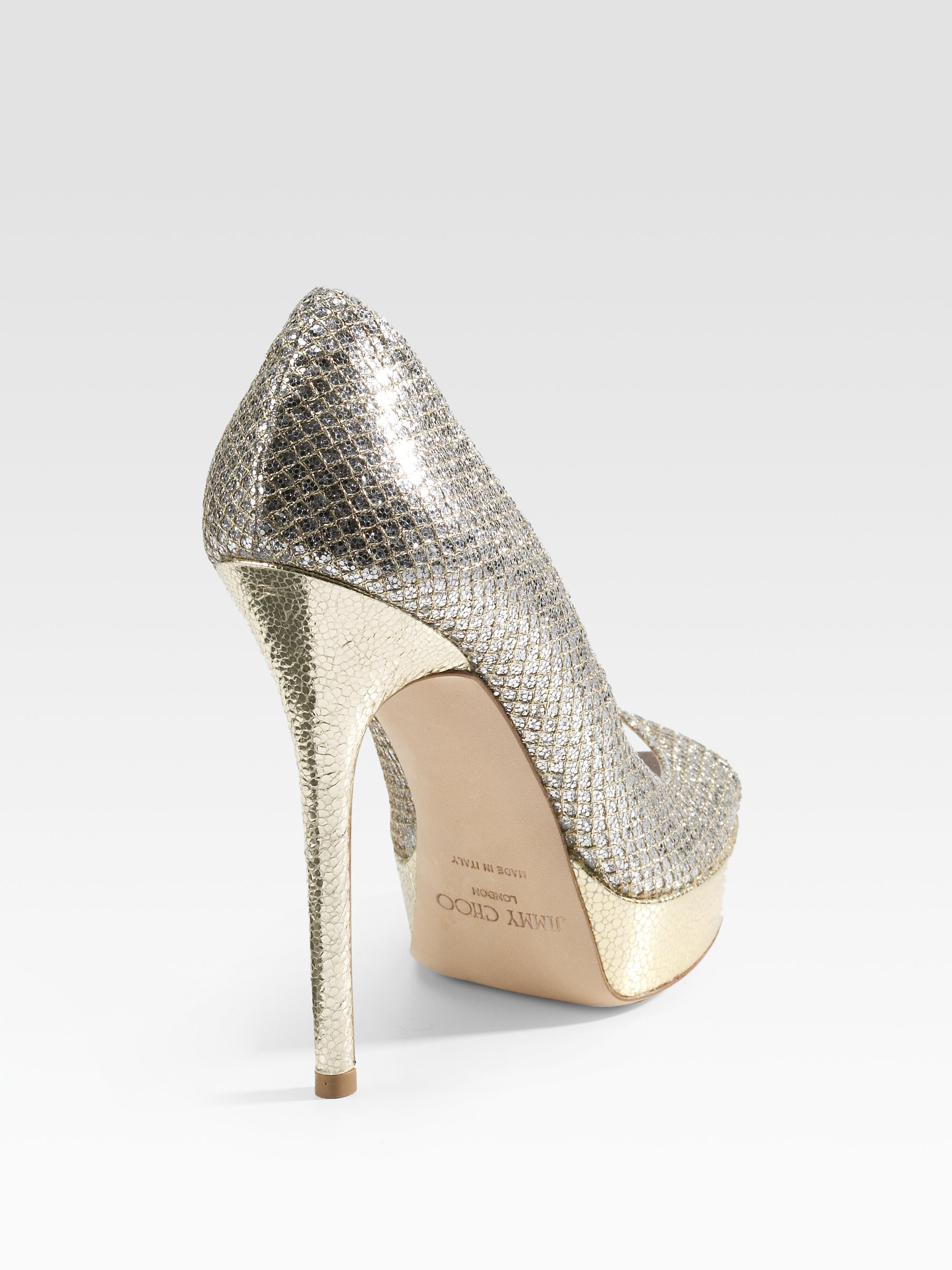 4a8d0bd1ba8 Gallery. Previously sold at  Saks Fifth Avenue · Women s Jimmy Choo Glitter