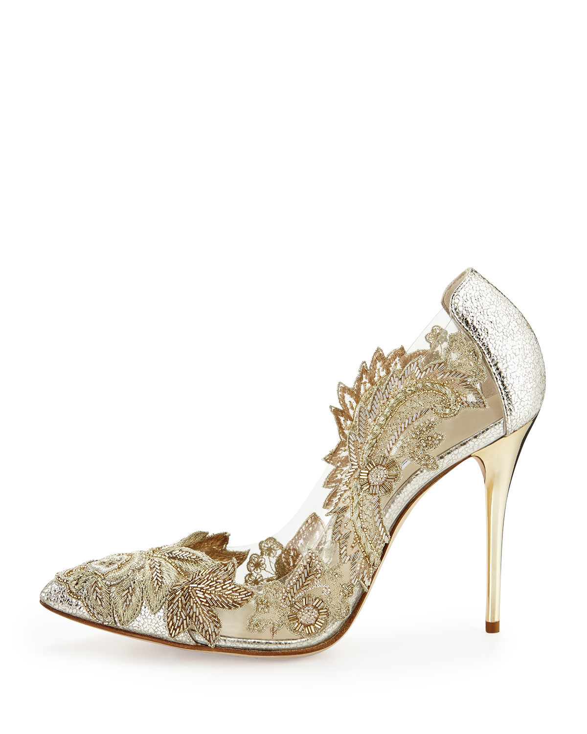 Oscar de la Renta logo embellished pumps for cheap sale online cheap sale 2015 new visit cheap online sale collections KlLcvQaW0h