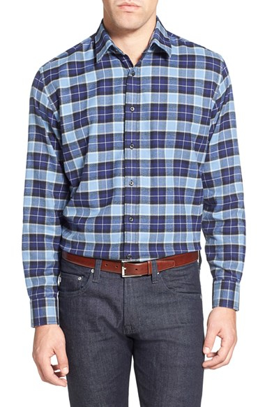 Lyst James Campbell 39 Eclipse 39 Regular Fit Plaid Sport