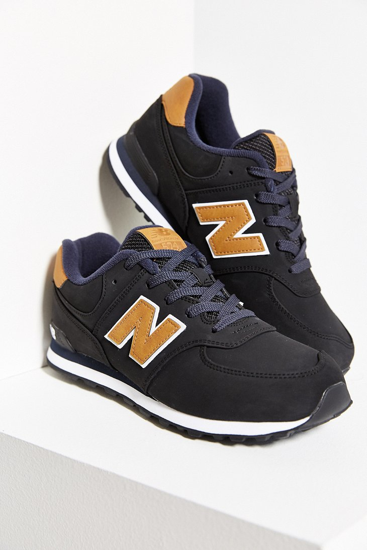New Balance Leather Running Shoes