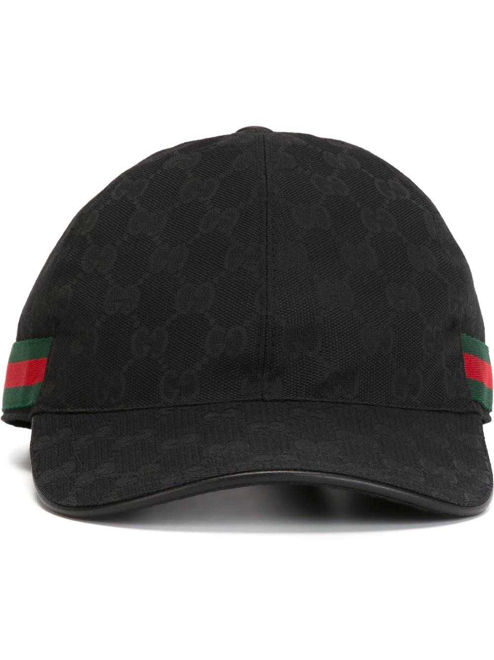 Lyst - Gucci Original Gg Canvas Baseball Hat for Men 552c6f52304