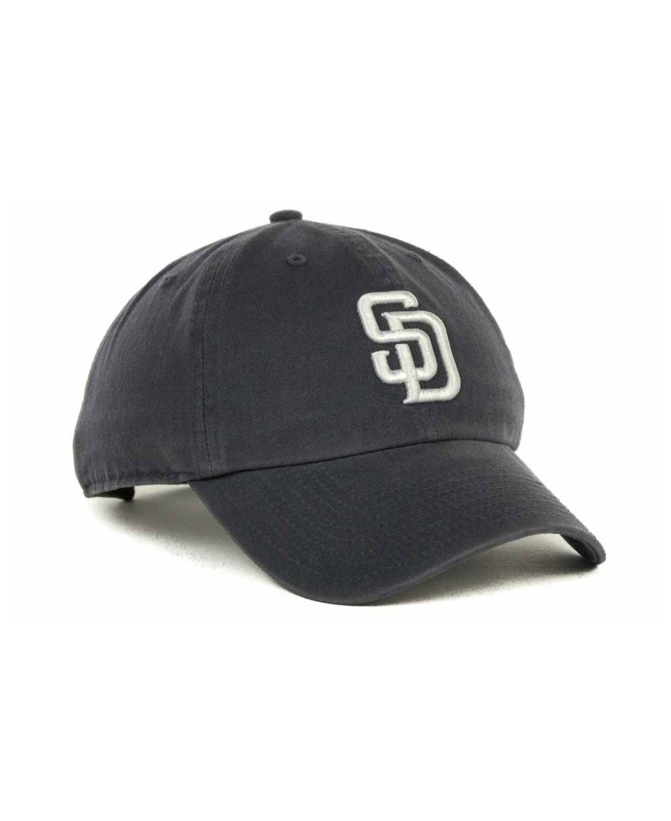 a512af69473b2 ... purchase lyst 47 brand san diego padres clean up hat in blue for men  f4d19 acec4 ...