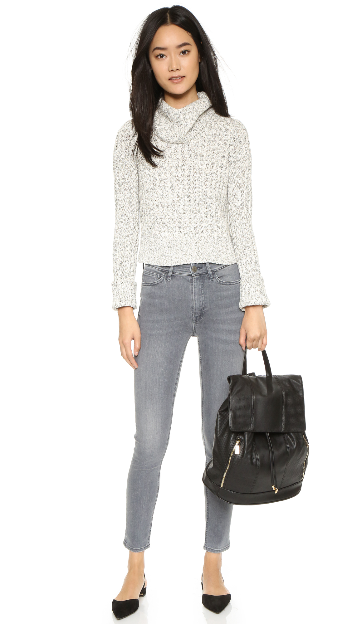 Deux Lux Downtown Backpack in Black
