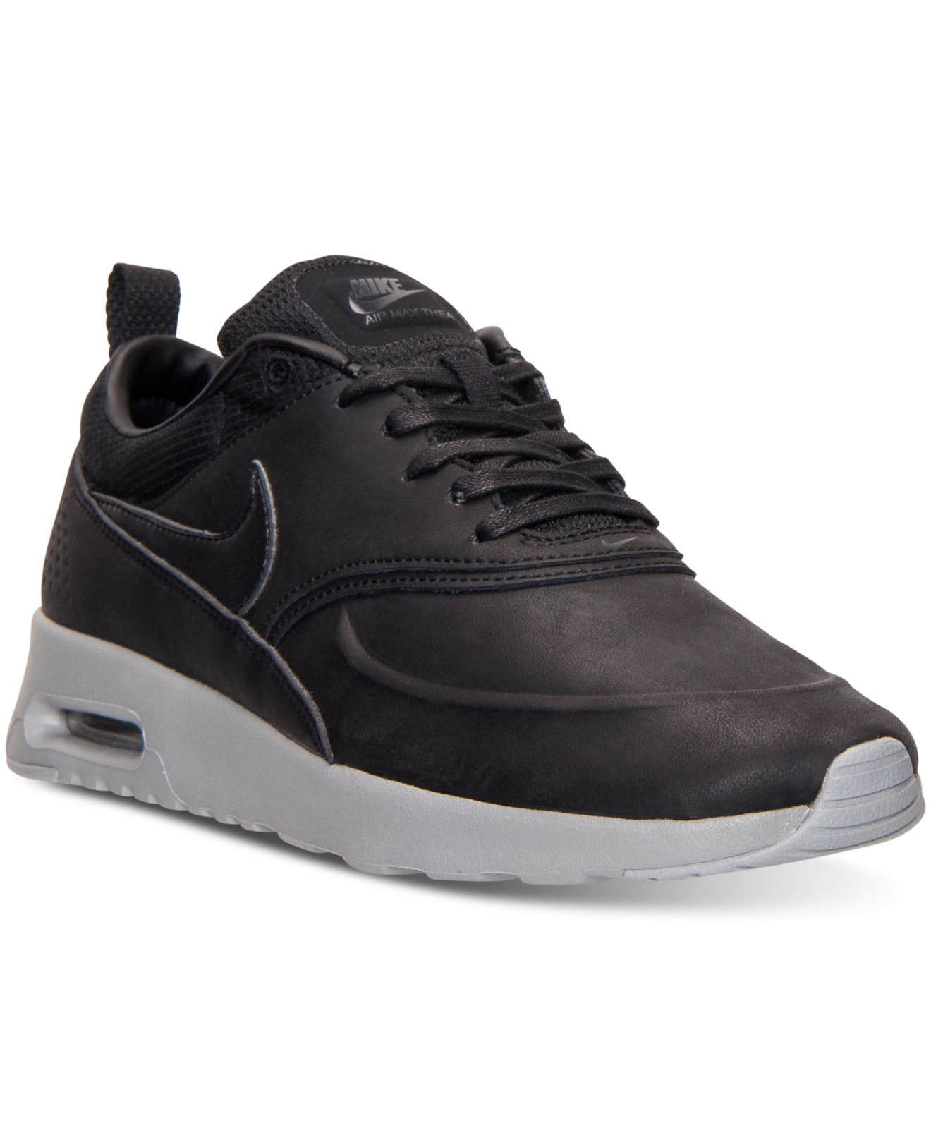 nike women 39 s air max thea premium running sneakers from. Black Bedroom Furniture Sets. Home Design Ideas