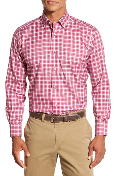 Lyst David Donahue Regular Fit Long Sleeve Gingham Sport