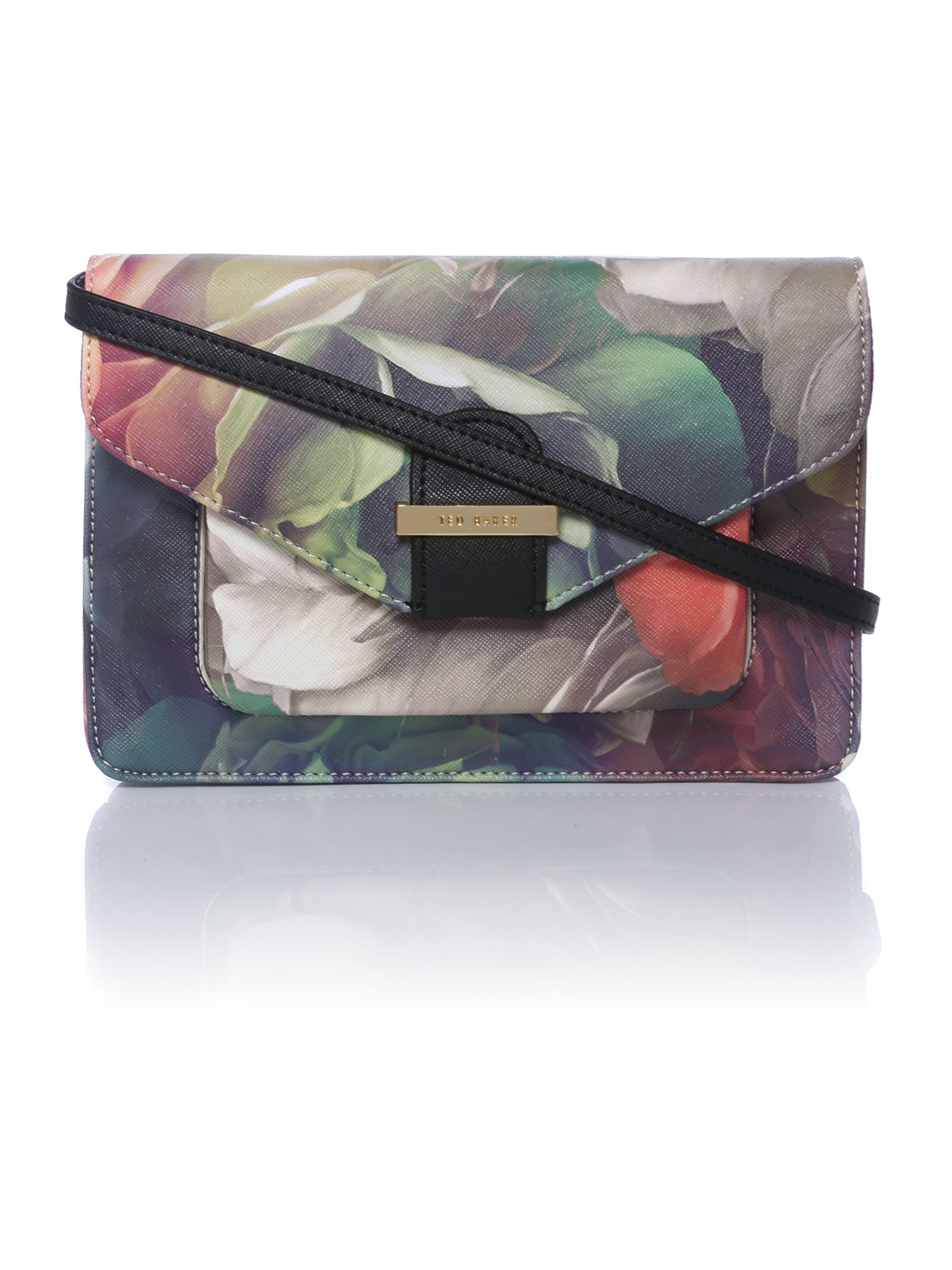 Ted Baker Tammia Multi-coloured Floral Cross Body Bag In Multicolor (Multi-Coloured) | Lyst
