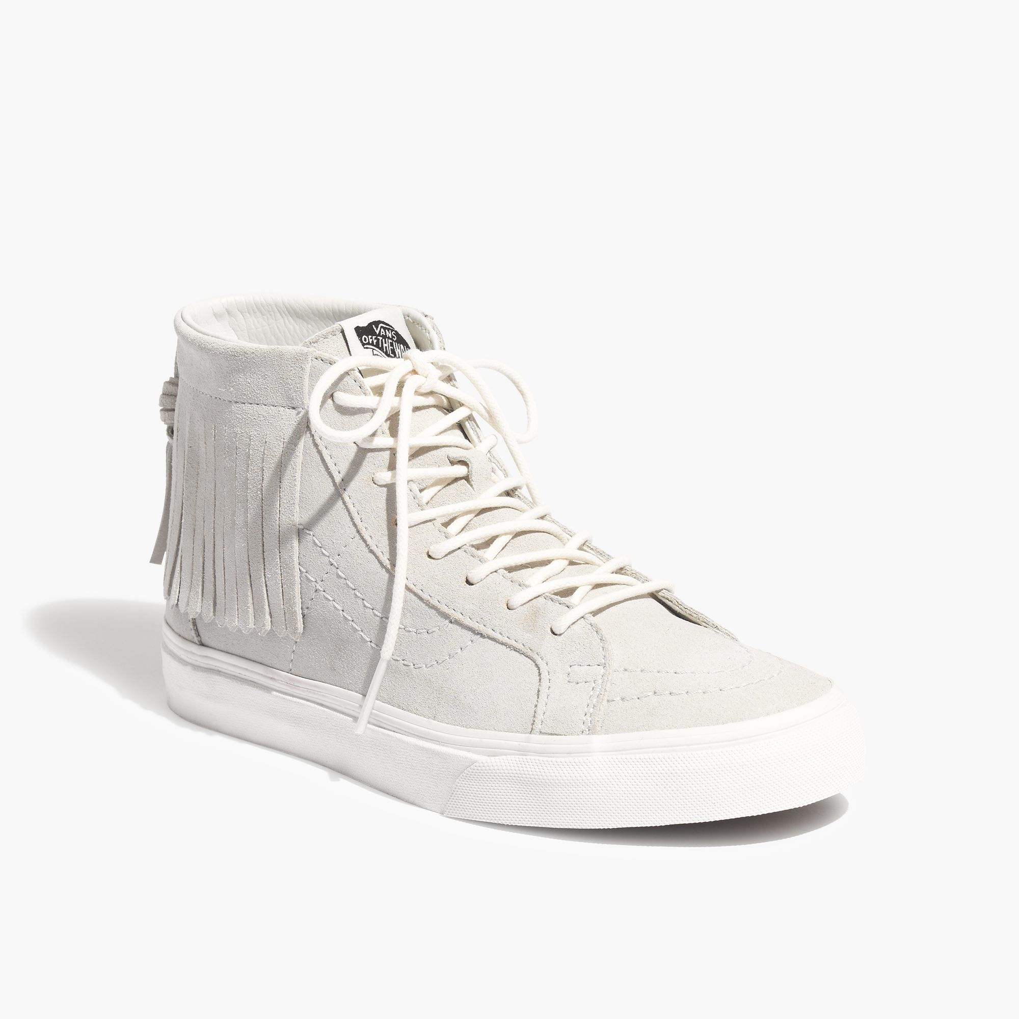 8afe8c0210 Lyst - Madewell Vans® Sk8-hi Moccasin High-top Sneakers in Gray