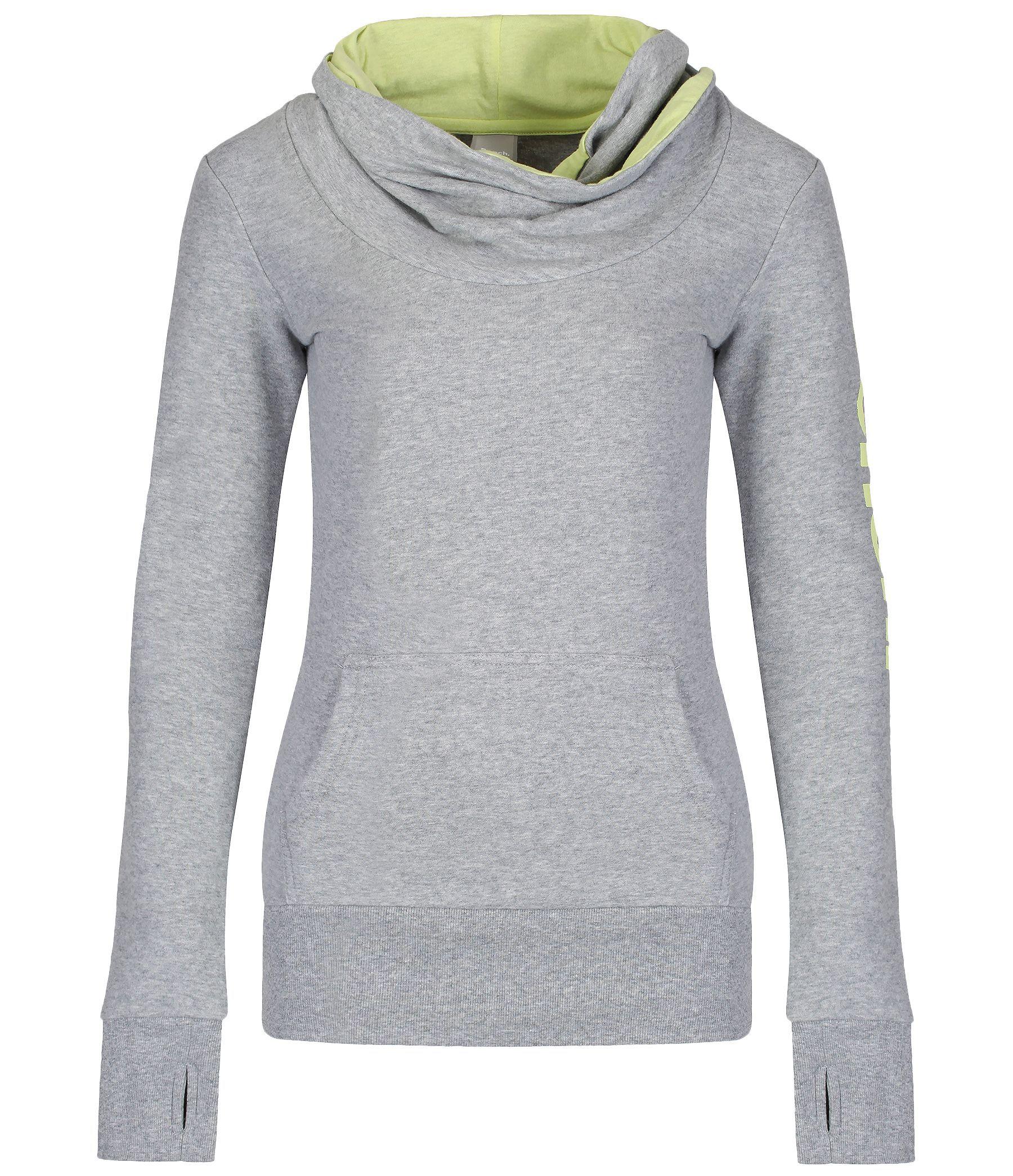 Bench Inclu Ii Cowl Neck Overhead Sweatshirt In Gray Grey Lyst