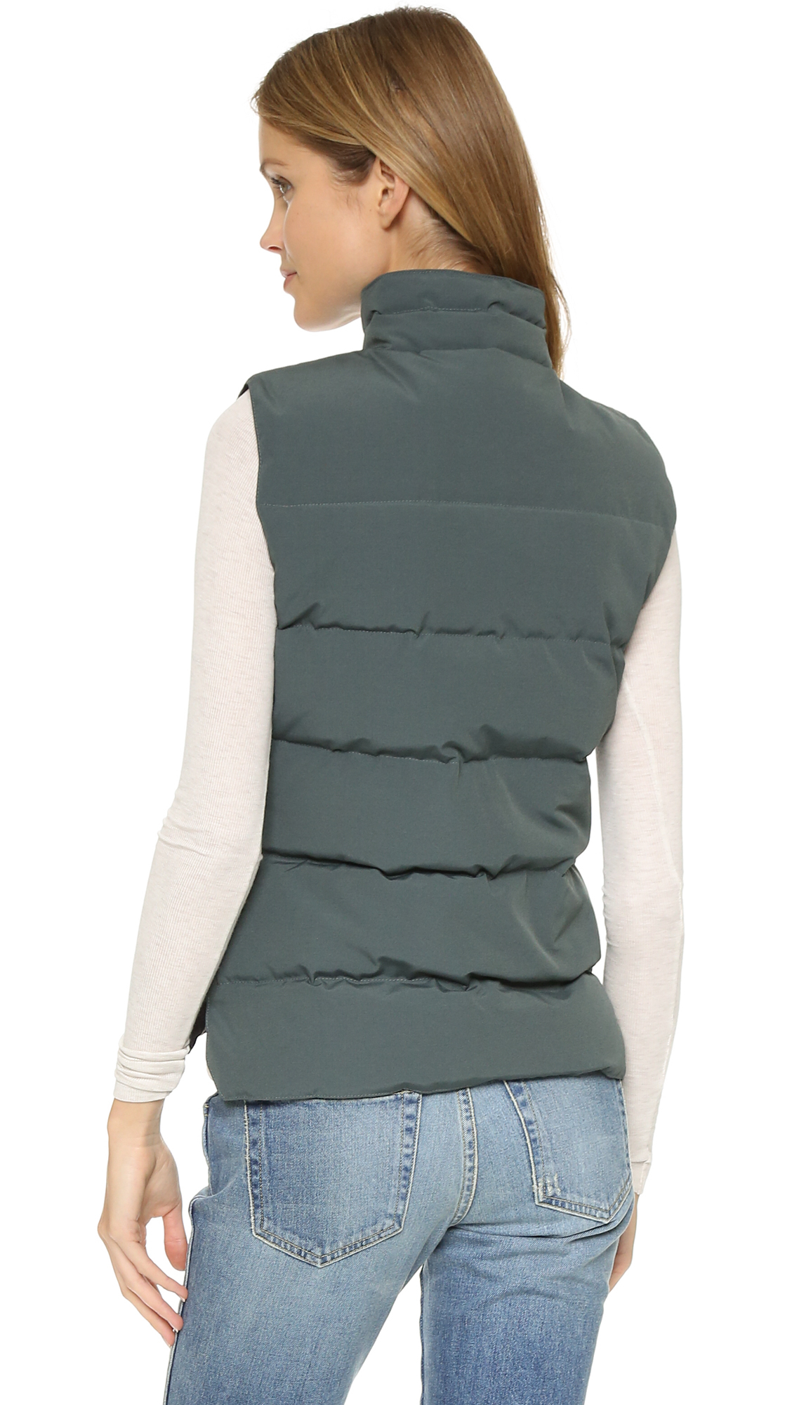 Canada Goose hats online shop - Canada goose Freestyle Vest in Gray (Slate) | Lyst