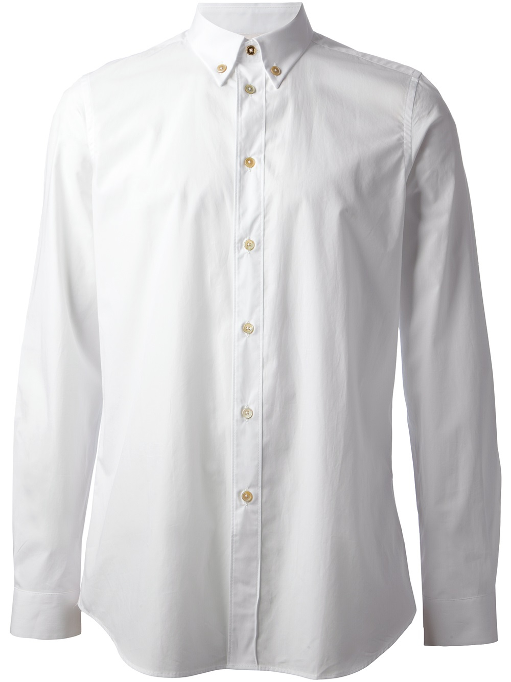 Paul smith Button Down Shirt in White for Men | Lyst