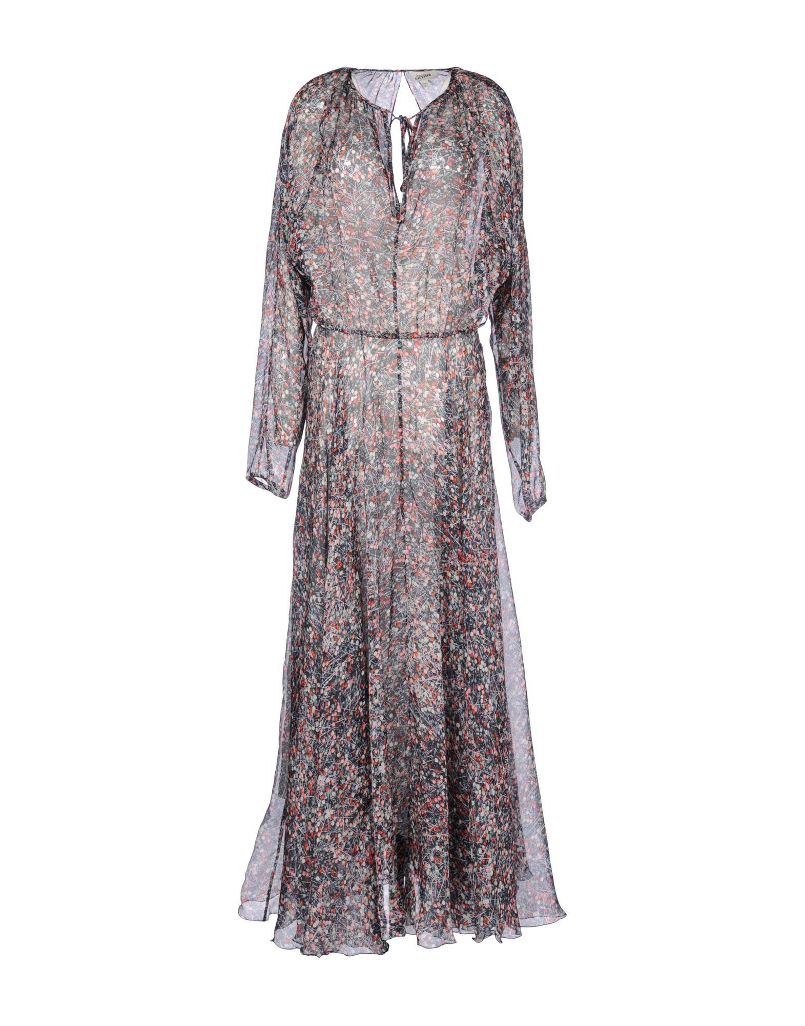 Jean paul gaultier long dress in black lyst for Jean paul gaultier clothing