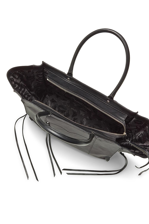 Rebecca Minkoff Leather Side Zip Medium M A B Tote In