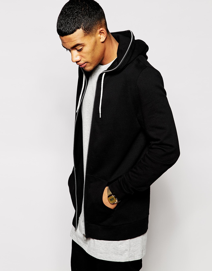 Hoodie With Zip Up Hood Fashion Ql
