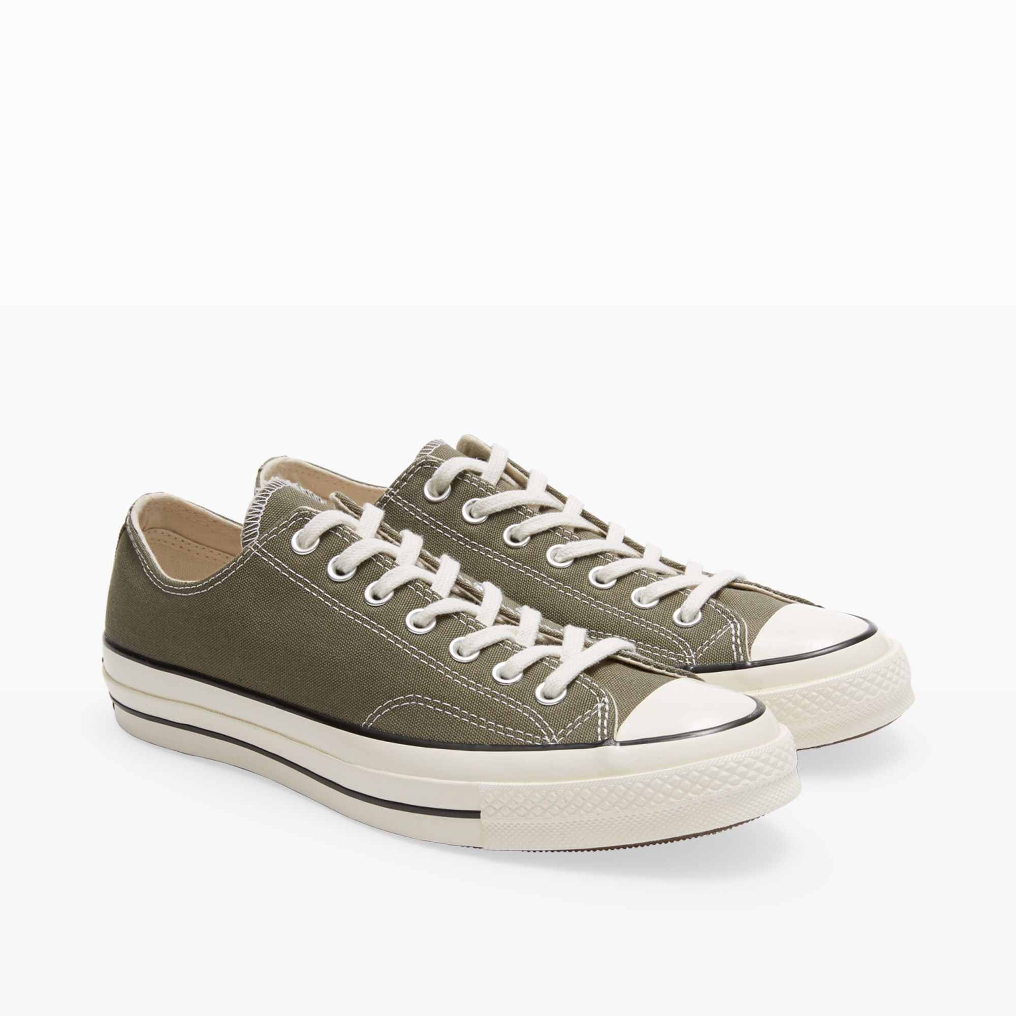 4bf10d1953a Lyst - Club Monaco Converse 70s Chuck Taylor Low in Green for Men
