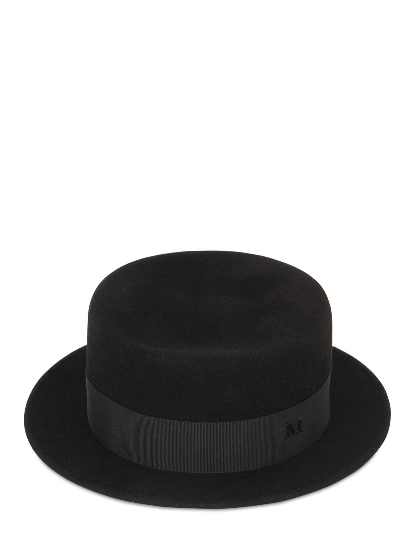 Auguste Hat - Black Maison Michel ILmmieK3n
