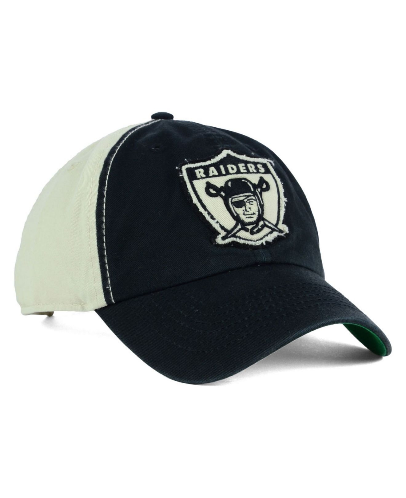 Lyst - 47 Brand Oakland Raiders Nfl Derby Clean Up Cap in Black for Men fd81a1e73