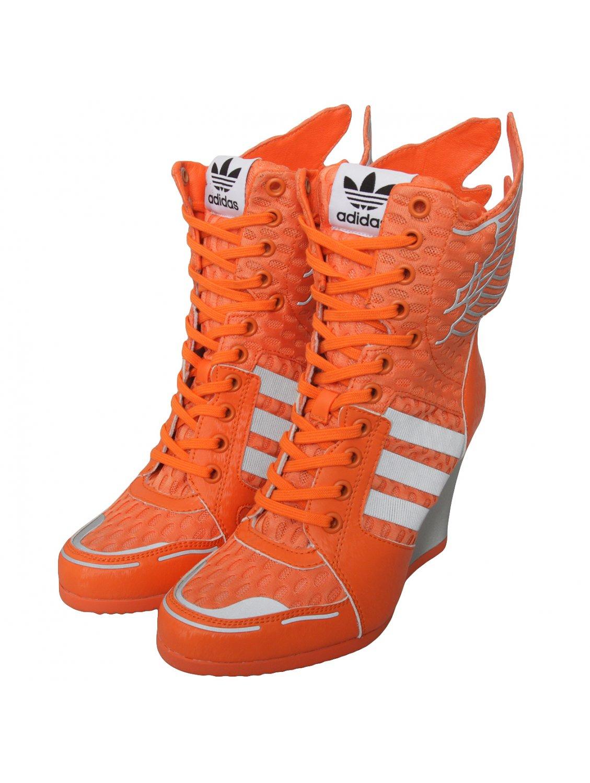 For Adidas Wings Wedges Women Orange Athletic Buy Js