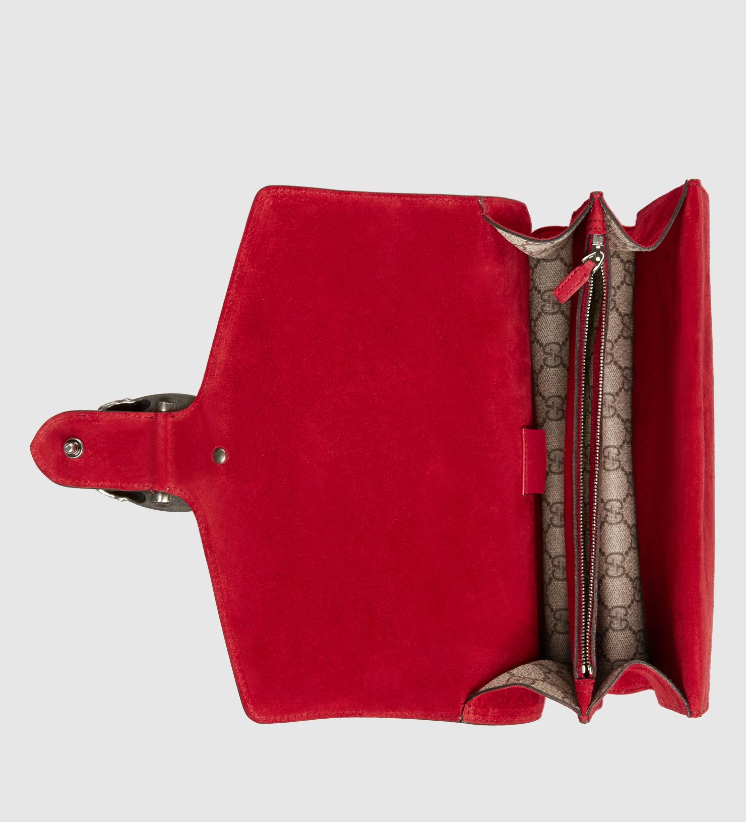 c13253c49629 Gucci Dionysus Gg Supreme Shoulder Bag in Natural - Lyst