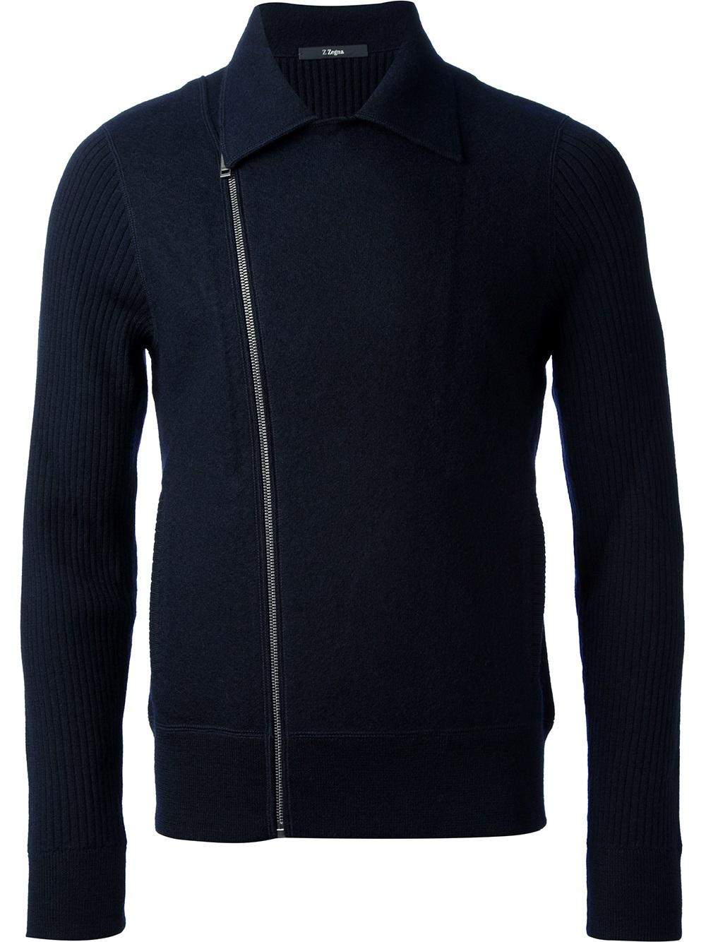 Navy Blue Sweater For Men
