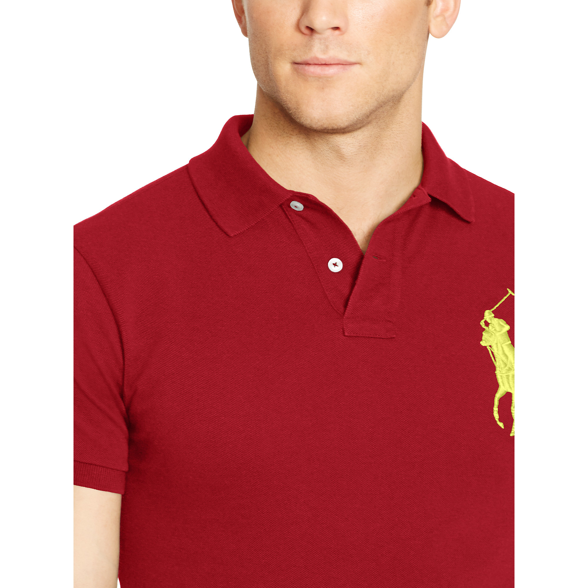 Red Big For Men Ralph Pony Custom Fit Lauren Polo QBotsxhCrd