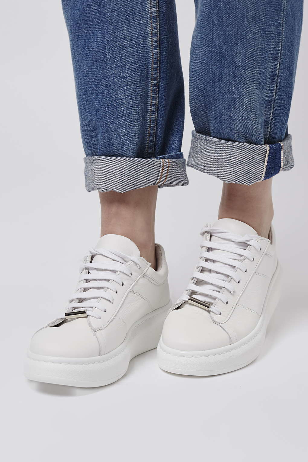 TOPSHOP Toulouse Lace-up Trainer in