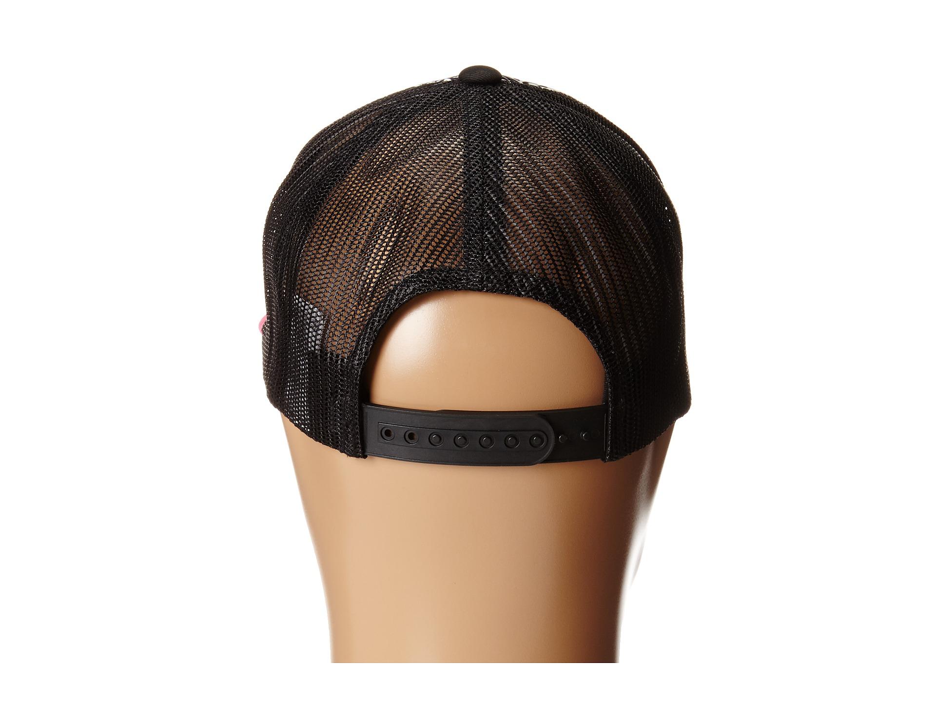 Lyst - Volcom Nacho Trucker Hat in Black 4b45cf8490f7