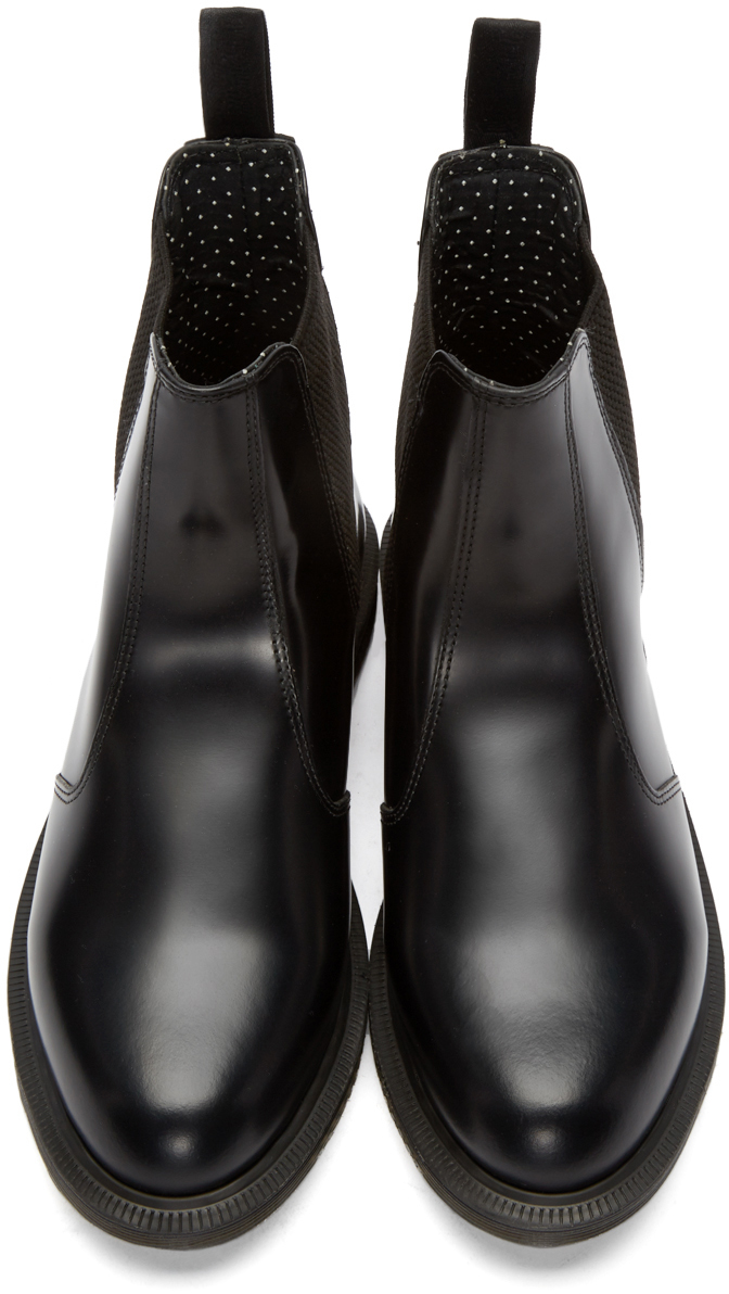 dcaa72dc2db Martens Chelsea Flora Boots In Black Lyst Dr dvFwqHgd