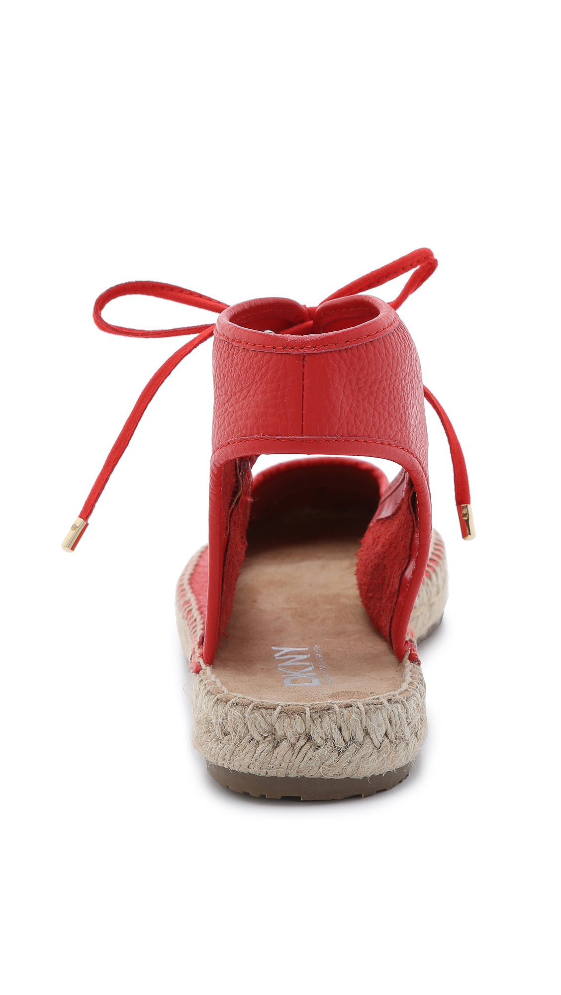 DKNY Isa Lace Up Espadrilles - Bright