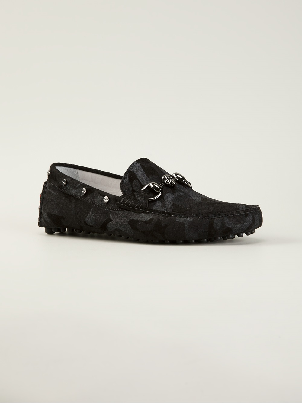 Philipp Plein Camouflage Loafers in
