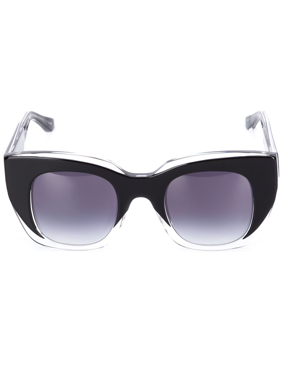 Thierry lasry 'intimacy' Sunglasses in Black