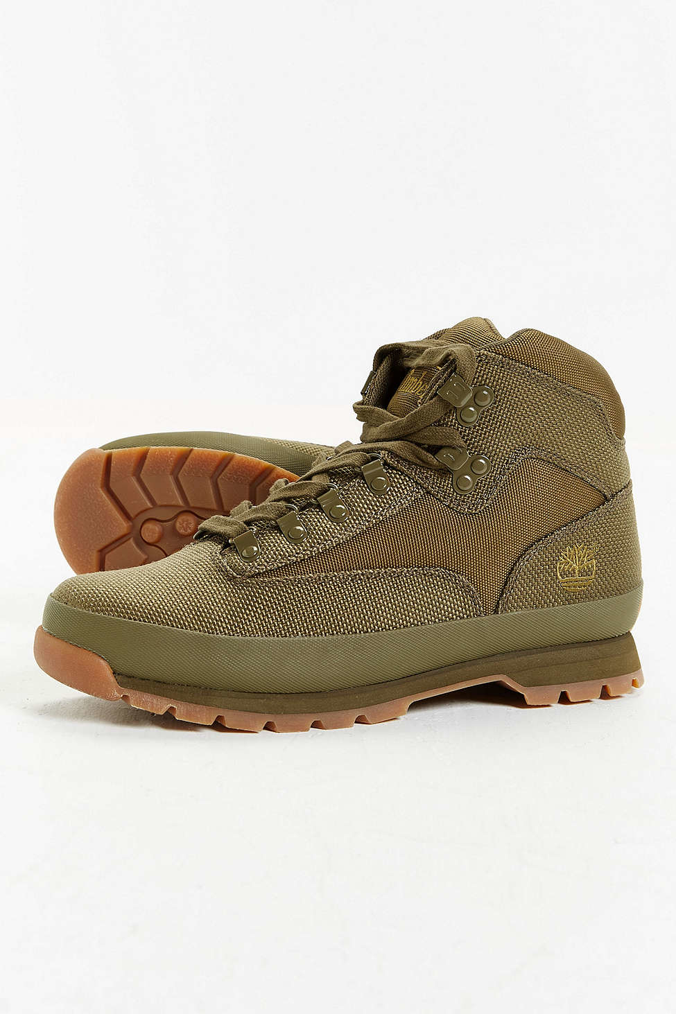 Timberland Euro Hiker Boot In Green For Men Lyst