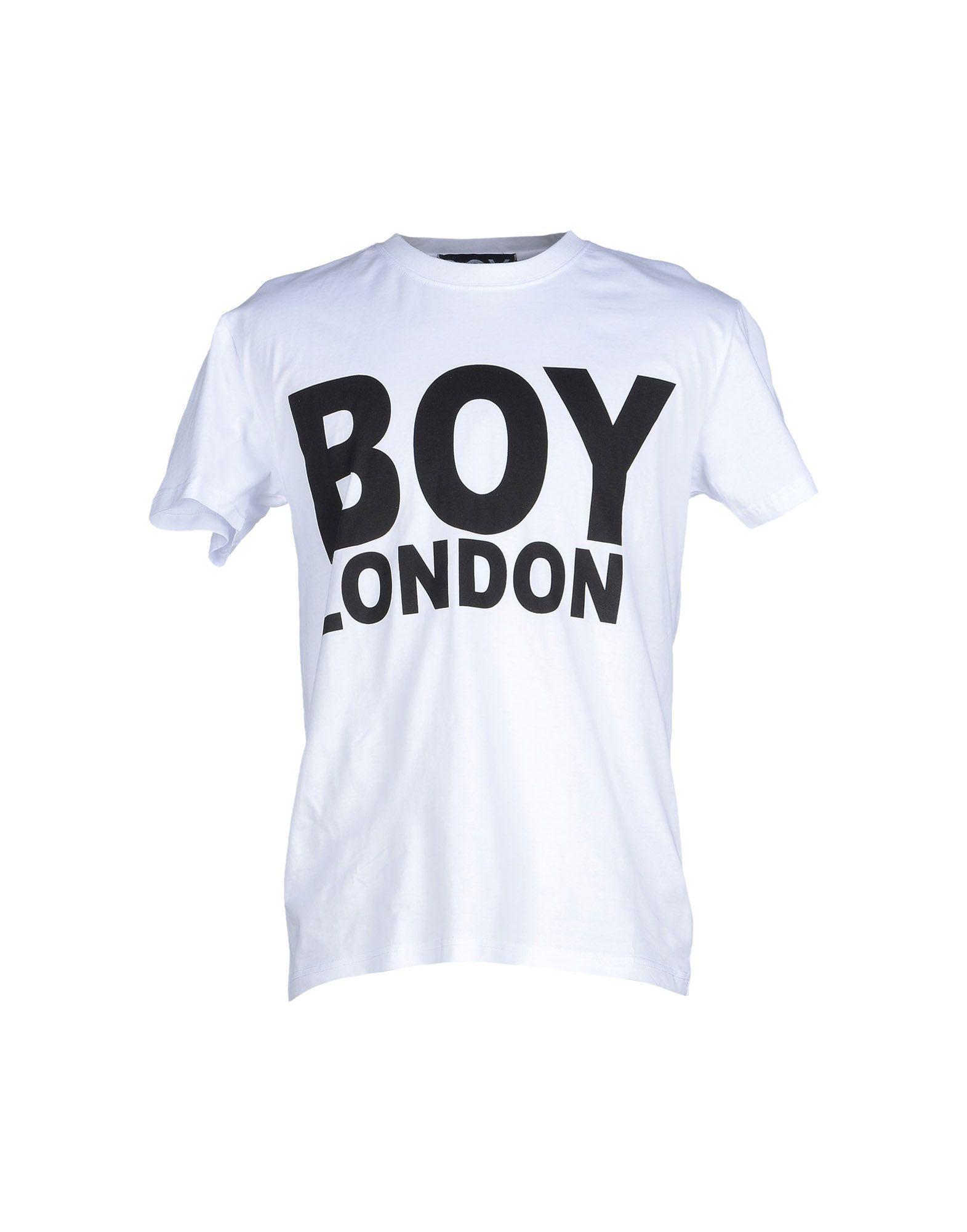 Boy london t shirt in white for men lyst Boy white t shirt