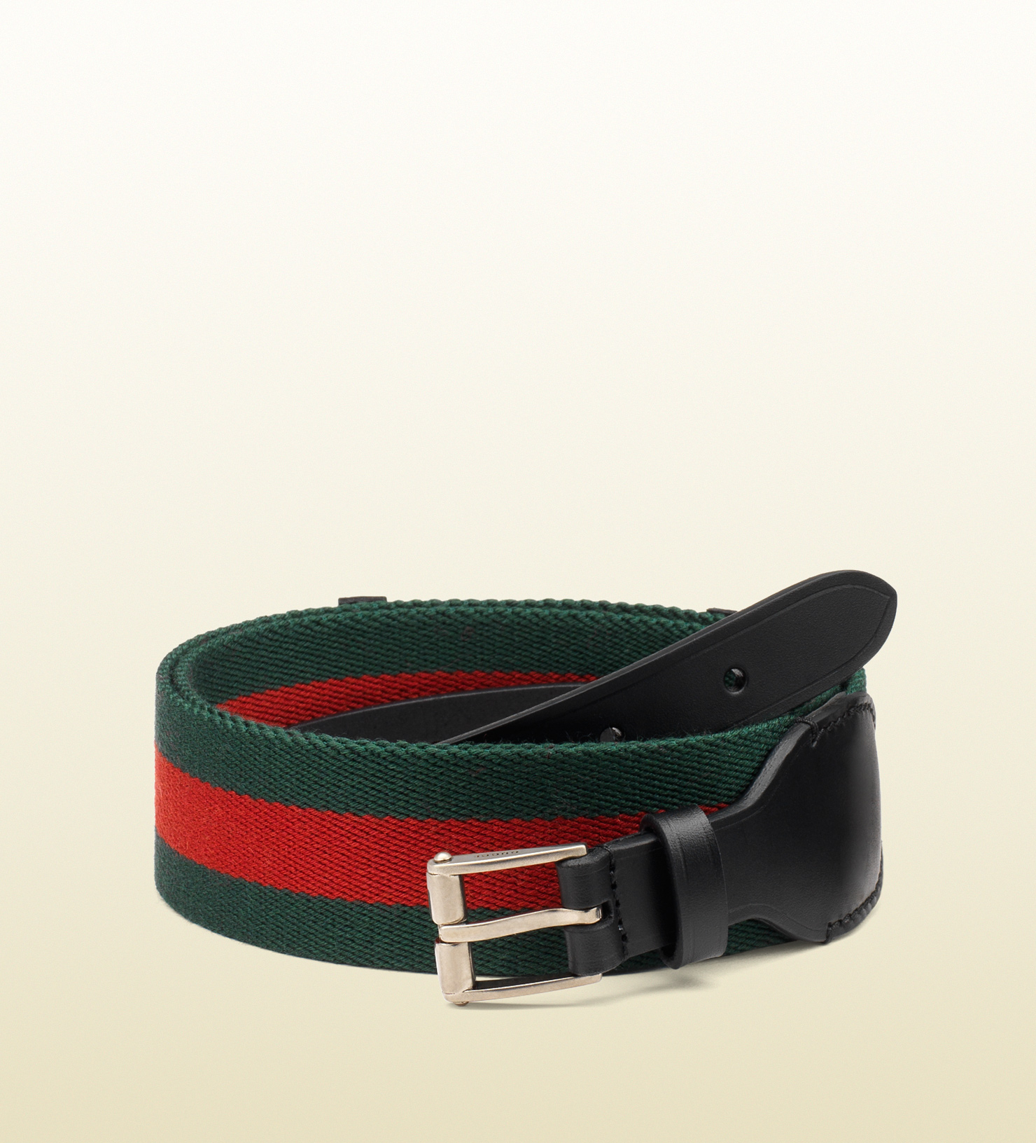 e15fcfe0a4ee5 Lyst - Gucci Signature Web Belt in Green for Men