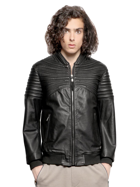 Just cavalli leather jacket